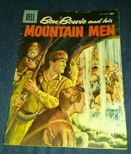 BEN BOWIE AND HIS MOUNTAIN MEN 11 G/vg 3.0 GREAT SILVER AGE DELL WESTERN COMIC