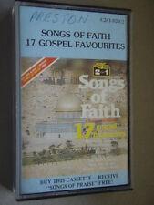 Songs Of Faith 17 Gospel Favourites Tape Cassette