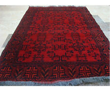 Exclusive Afghan Khal Muhamadi Area Rug Hand Knotted Wool Carpet (6.1 x 4.3)'