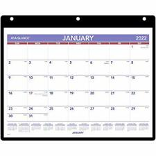 2022 Wall Amp Desk Calendar By At A Glance 11 X 8 Small With Clear Cover And