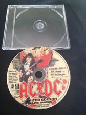 AC/DC LIVE CD PROMO 3 LIVE TRACKS MADRID PRO 6233 WARNER ALBERT PRODUCTIONS OOP