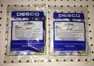 Desco Coil static coil cord & metal wristband BRAND NEW SEALED - 09680  & 09044