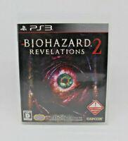 Sony PS3 PLAYSTATION - Biohazard 2 Revelations Resident Evil Japan Siehe Capcom