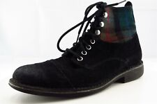 Cole Haan Boots Size 7.5 M Black Paddock Leather Men