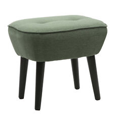 Fabric Footstool Foot Rest Stool Ottoman Pouffe Seat Living Bedroom Vanity Stool
