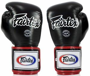 FAIRTEX BGV5 Boxhandschuhe schwarz/weiß/rot Boxen, Kick-Thaiboxen