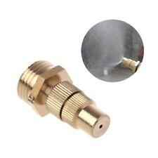 "1/2"" DN15 Garden Irrigation Brass Spray Misting Nozzles Spray Head  Adjustable"