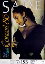 SADE - 1986 - Konzertplakat - Concert - Promise - Tourposter - Essen