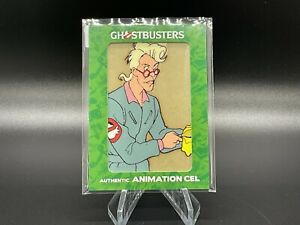 2016 Cryptozoic The Real Ghostbusters Egon Spengler  animation cel 1/1 Rare!