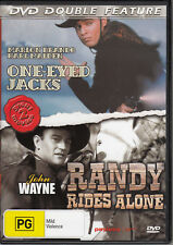One-Eyed Jacks /Marlon Brando + Randy Rides Again /John Wayne - DVD  ALL REGION