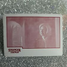 2018 Topps Stranger Things 1of1 Printing Plate! #15 Social Services