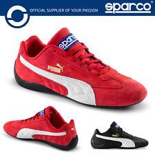 New! 2021 Sparco PUMA SPEEDCAT Trainers Paddock Shoes Sneakers Motorsport Race