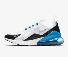 Nike Air Max 270 para hombre Blanco Azul Negro Plata Zapatillas Zapatos entrenador todos los tamaños