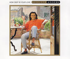 THOMAS ANDERS - MAXI-CD - HOW DEEP IS YOUR LOVE / IF YOU COULD ONLY SEE ME NOW