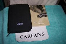 2003 Ford Explorer Owners Manual With Case