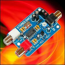 STEREO ENCODER WITH AUDIO LIMITER, 15KHZ FILTER & PRE-EMPHASIS