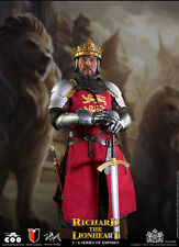"Coo Models 1/6 Scale 12"" Series of Empires Richard the Lionhearted SE-004 New"