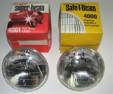 """Westinghouse 5"""" Headlight Bulbs - High (4001) and low (4000) beam - New- tested"""