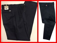 BIGBILL Wrinkle-Free Women's Pleated Work Pants Cotton Size 26W / 30L NWT