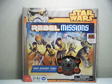 NEW Star Wars Rebel Missions Strategy Board Game Disney XD FREE Shipping