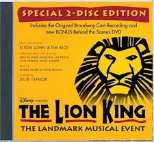 Various Artists - Lion King on Broadway (Original Broadway Cast) [New CD] With D