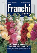 30 Semi ALTHEA ROSEA Doppia Multicolor