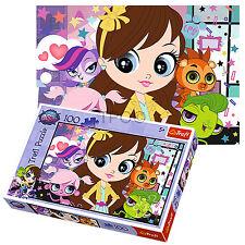 Trefl 100 Pièces Enfants Filles Littlest Pet Shop Blythe Roger Baxter Puzzle