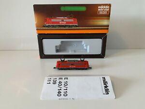 Marklin 88381 Z Gauge Miniclub Spur Z E-LOK DB CARGO rot Eisenbahn -Please Read