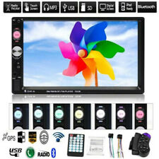 7 Inch Double 2 DIN Car MP5 FM Stereo Radio MP5 Player Touch Screen Bluetooth