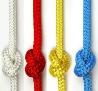KINGFISHER Braid on Braid Polyester Solid Colour Sheet Halyard Yacht Boat Rope