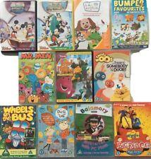 Young Childrens BUNDLE - Baby Einstein, Barney, Mr. Men, Mickey, Wiggles - Dvd