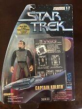 Star Trek Warp Factor Series 1 Captain Koloth Figure By Playmates 1997 New