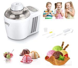 Gelatiera Professionale Bianco macchina per gelati sorbetti e Yogurt Ice Cream
