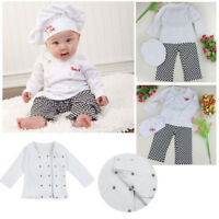 Baby Boy Girl Cook Chef Outfit Infant Kitchen Costume Carnival Party Halloween