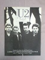 U2 - Pride (In The Name Of Love) - Poster / advert - 27cm x 20.2cm