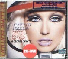 CD + DVD CHRISTINA AGUILERA KEEPS GREATEST HITS VIDEOS