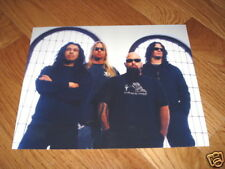 Slayer Kerry Cool Promo Band 8X10 Heavy Metal Photo