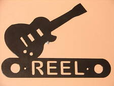 GUITAR METAL HOME ADDRESS SIGN  WALL DECOR HOUSE MUSIC
