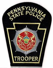 PENNSYLVANIA STATE POLICE TROOPER - SHOULDER - IRON or SEW-ON PATCH