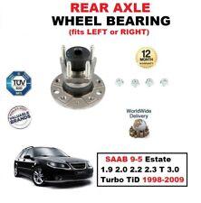 für Saab 9-5 Kombi 1.9 2.0 2.2 2.3 T 3.0 Turbo TiD 1998-2009 Hinterradlager