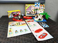 """Lego Pirates 6265 """"Sabre Island"""" + 6245 Kanonenboot + OVP rar selten 1989"""