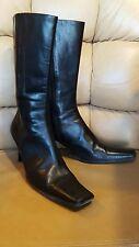 Prada Boots/Booties/Pumps Vintage Leather Italian sz. 9.5 / 40