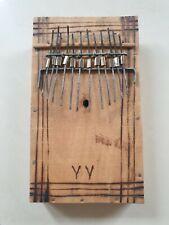 Afrikanisches Musikinstrument Zupfinstrument Handmade 70er Tansania
