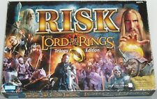 LORD OF THE RINGS RISK TRILOGY EDITION Parker Brothers Board Game *Complete Ring