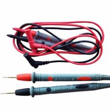 Needle Tipped Tip Multimeter Probes Test Leads Tester 1000V 10A 90cm Cable HS