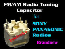 Variable Capacitor Tuning Condencer Radio AMFM Analog Receiver Sony Panasonic