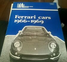 Ferrari Cars, 1966 to 1969 by R. M. Clarke (1979, Paperback)
