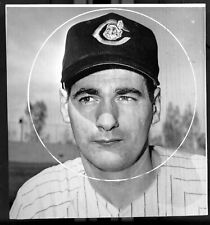 Ron Taylor Cleveland Indians Baseball Photo 1962 Rookie Canadian Baseball HOF