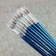 Blue Color Paint Brush 20 Pieces Set Supplies Brushes 5D Watercolor Oil Painting