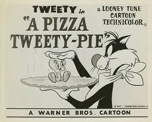Warner Brothers-Chuck Jones Limited Edition Litho-A Pizza Tweety Pie-Sylvester